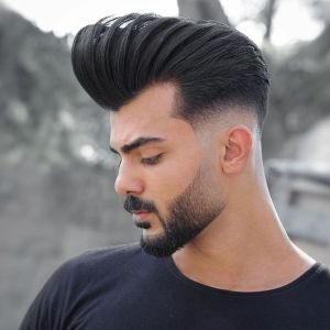 pompadour hairstyle 2020