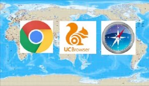 uc browser outranks google chrome in india and indonesia