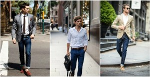 cool shirt jeans and suit combinations for guys