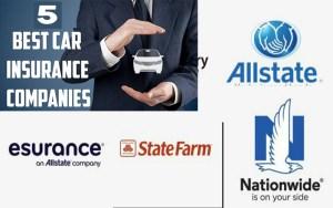 worldwide auto (car) insurance companies