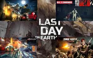 best zombie HD apk games
