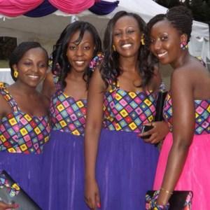 short sleeve ankara fashion styles for bridesmaids