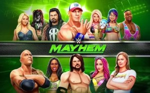 WWE Mayhem best android wrestling multiplayer game