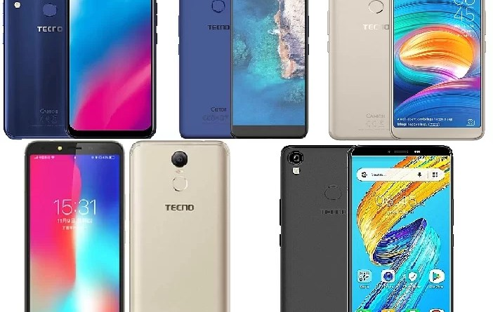 best cheap tecno smartphones with about 2 to 3gb ram size