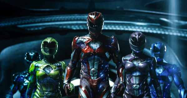Buzz Review of Power Rangers (2017) poster 2
