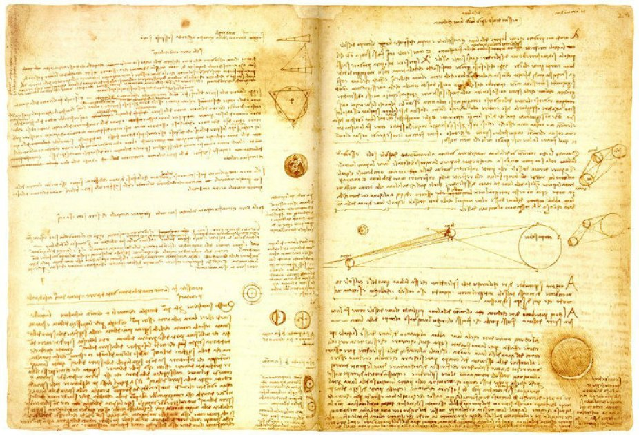 In 1994, Bill Gates purchased Leonardo da Vinci's Codex Hammer for over $30 million & Convert into digital version of the Codex as wallpapers