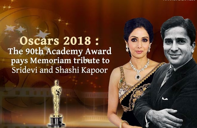 "Sridevi & Shashi Kapoor Was Featured In The ""In Memoriam"" Segment At The Oscars And Everybody Is In Tears"