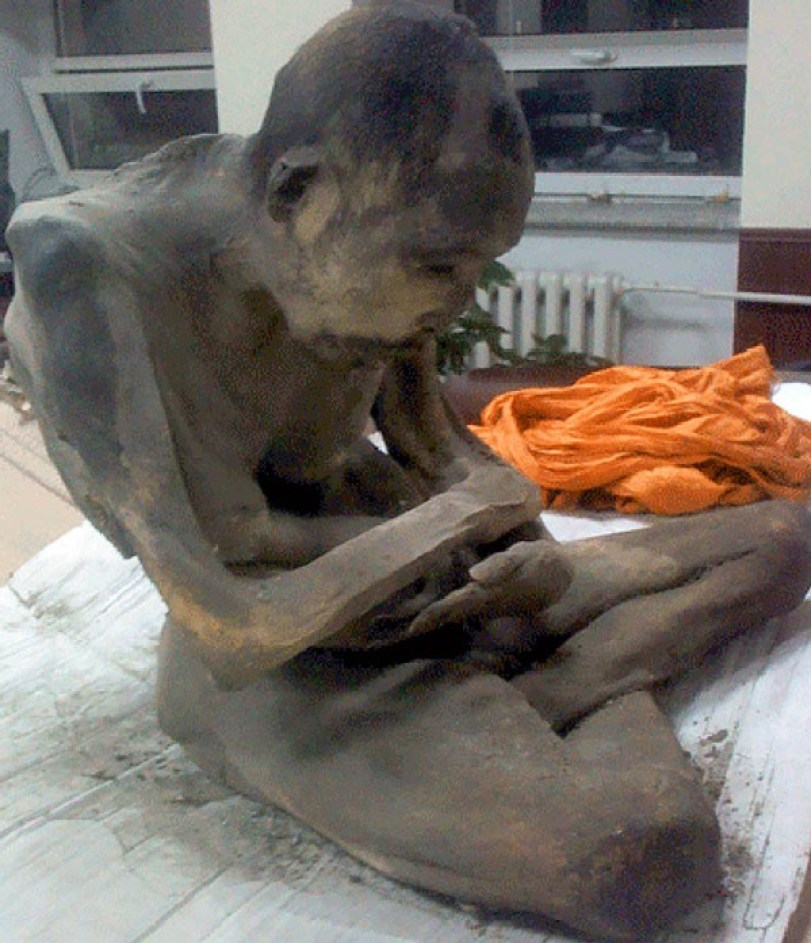 "Scientists Find 200-Year-Old Mummified Mongolian Monk ""Deep Meditation Trance"""