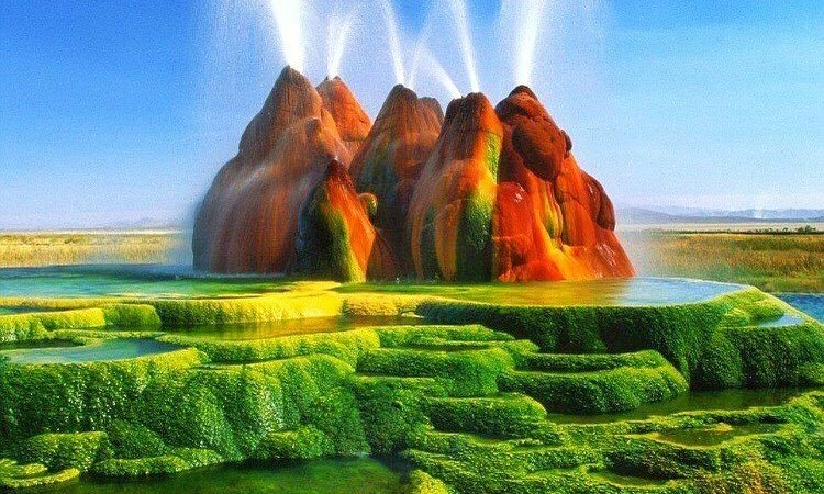 FLY GEYSER: ONE OF NEVADA'S LITTLE SURPRISES