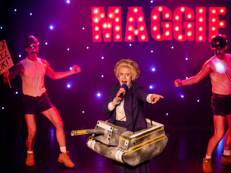 Margaret Thatcher Queen of Soho Buzz Magazine Stage Review