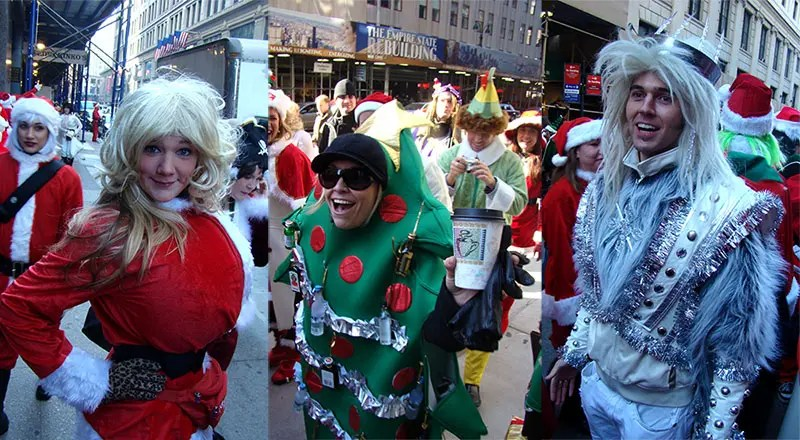 Santacon costume ideas