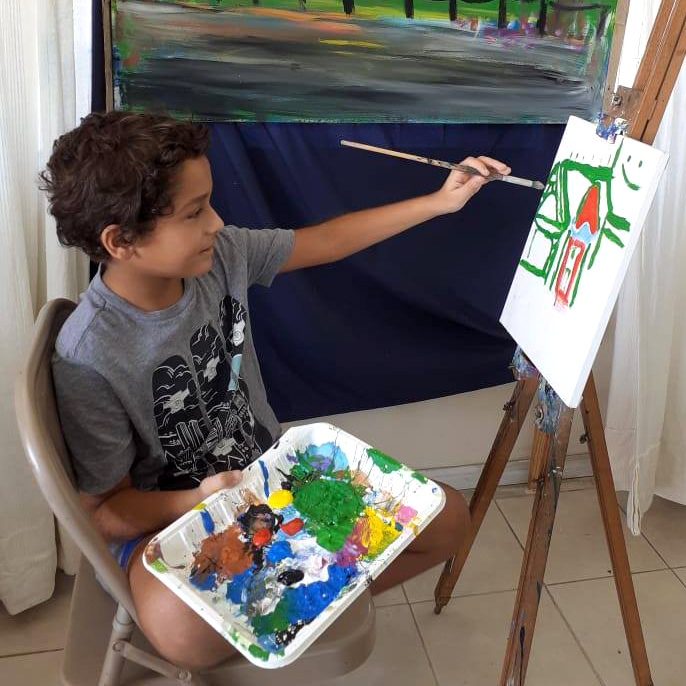 Painting, Dairy Dairy Milky Magic Day Camp Activities
