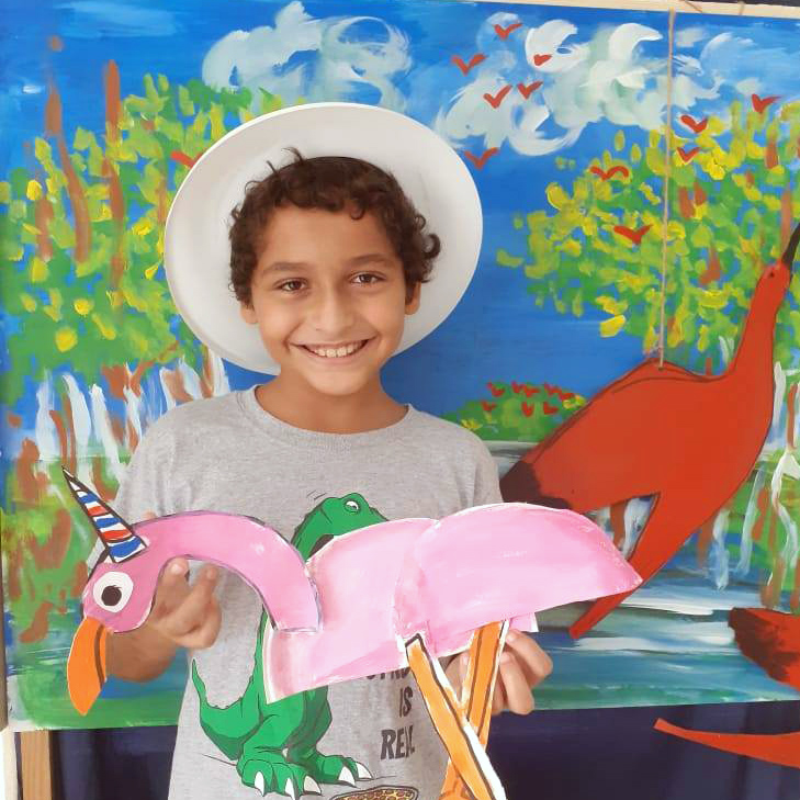 Scarlet Ibis, Dairy Dairy Milky Magic Day Camp Activities