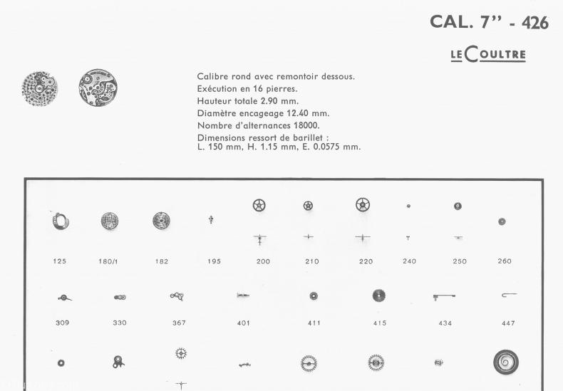 Omega caliber 285 movement
