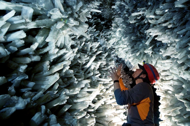 Cave Of Crystals, Chihuahua, Mexico