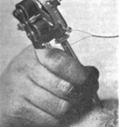 the electric tattooing needle scientific american sept 12 1903 pg 189 [ 1516 x 1805 Pixel ]