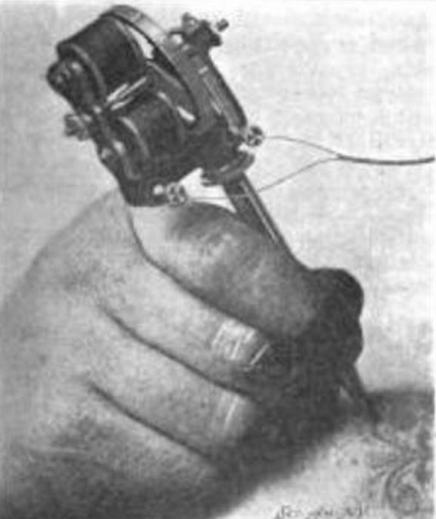 hight resolution of the electric tattooing needle scientific american sept 12 1903 pg 189