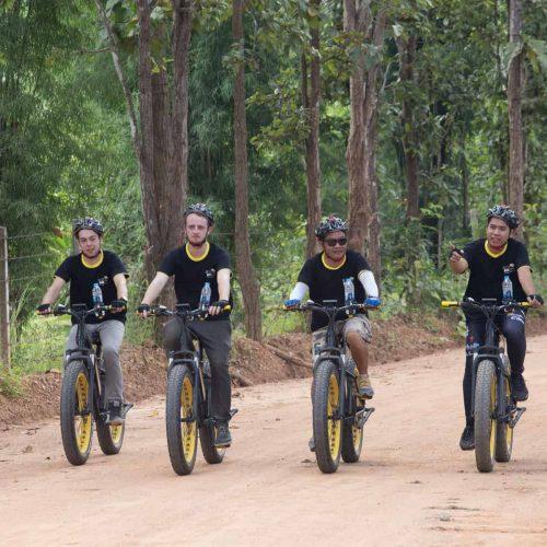 four guys went out E-biking | Buzzy Bee Bike, Chiang Mai, Thailand