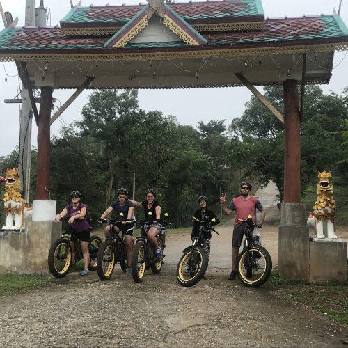gate to Wat Doi Tham | Buzzy Bee Bike, Chiang Mai, Thailand