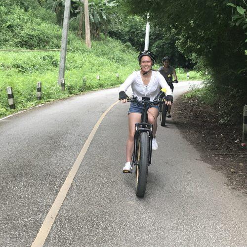 rolling down | Buzzy Bee Bike, Chiang Mai, Thailand
