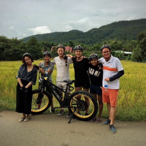 NTCC E-biking after Chiang Mai Connect event | Buzzy Bee Bike, Chiang Mai, Thailand