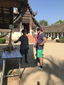 visiting Wat Ton Kwean | Buzzy Bee Bike, Chiang Mai, Thailand