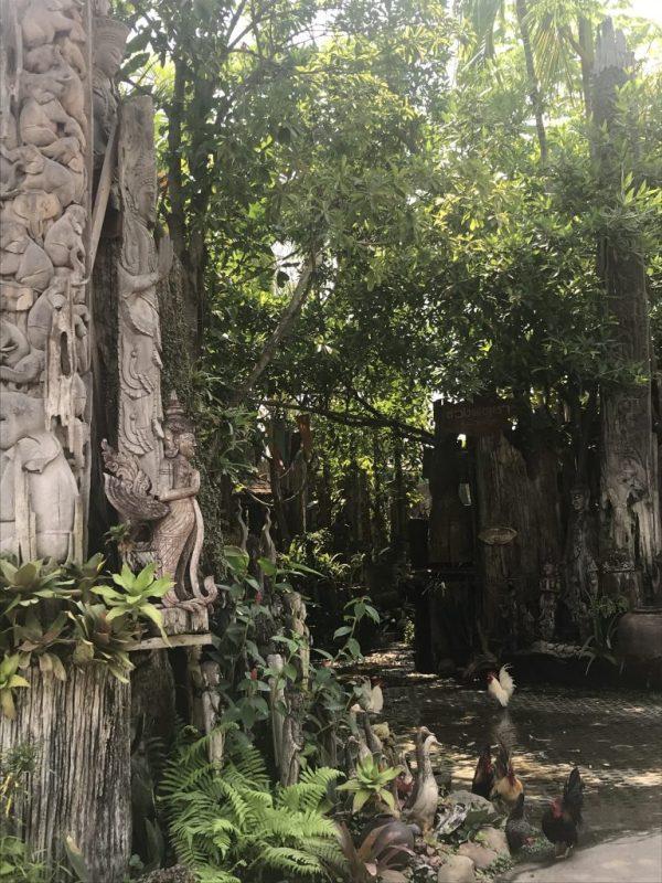 stop at Baan Tawai | Buzzy Bee Bike, Chiang Mai, Thailand