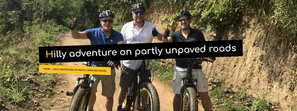 Hilly adventure on partly unpaved roads | Buzzy Bee Bike, Chiang Mai, Thailand