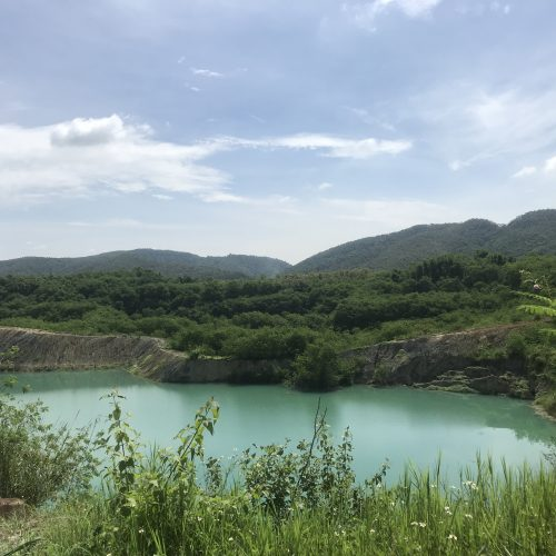 old quarry lake | Buzzy Bee Bike, Chiang Mai, Thailand