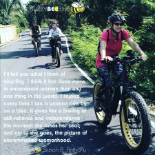 quotes - Susan B Anthony | Buzzy Bee Bike, Chiang Mai, Thailand