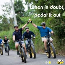 quotes - pedal it out | Buzzy Bee Bike, Chiang Mai, Thailand