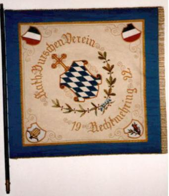 Burschenfahne rechts