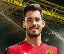 Autografado por Roman Bürki, o goleiro do Borussia Dortmund para a temporada 2016/2017