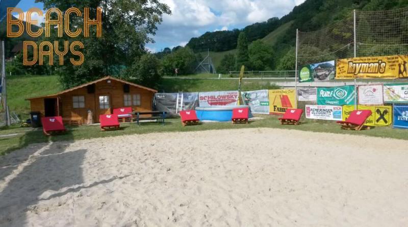 Ausbau der Volleyballanlage 2017