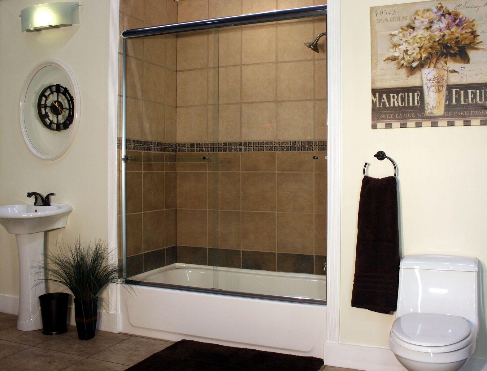 Semi Frameless Shower Enclosures Best Value Glass Inc