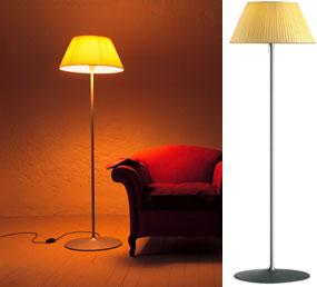 意大利 Flos Romeo Soft F 米黃布罩大號落地燈 Philippe Starck菲利浦史塔克設計_Floor lamp_Modern lighting_Modern Lighting ...