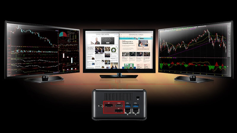 Ryzen embedded Triple Display