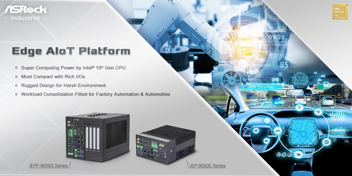 ASRockInd iEPF 9000S iEP 9000E Series Edge AIoT Platform
