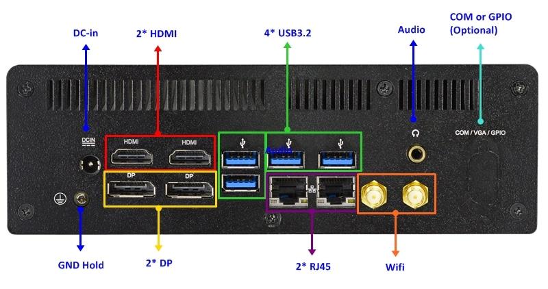 HBFDF05 rear diagram