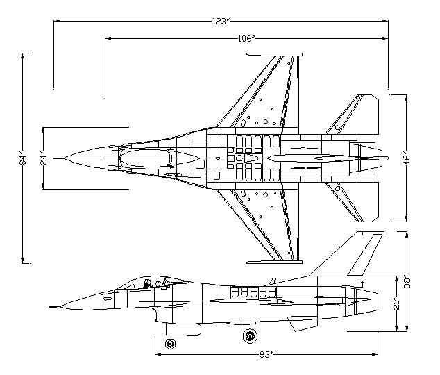 F-16 1:5 Scale