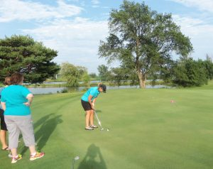 Ladies Nine & Wine 4-Gal Best Shot Golf Tournament