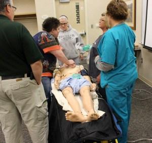 BVRMC AED Training 2