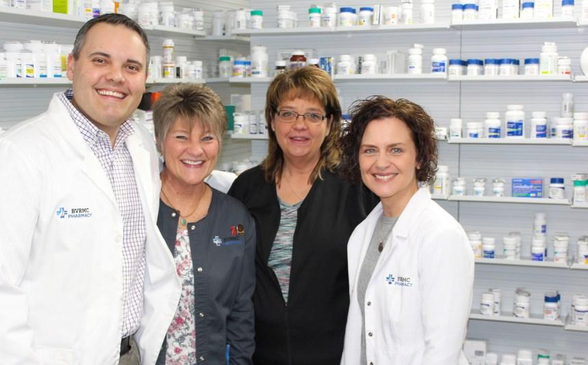 BVRMC Pharmacy team photo