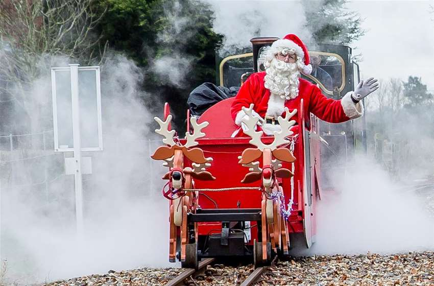 Steam Trains To Santa Bure Valley Railway Norfolk