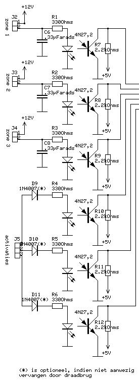 Home Alarm System with the PIC16F84
