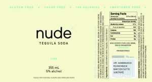 Nude Tequila Soda