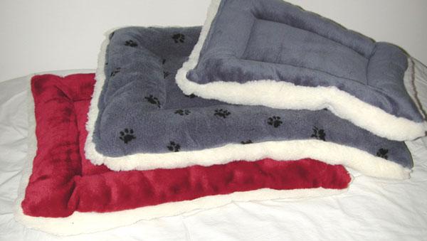 Lambskin Fleece Dog Crate Pads  Stuffed Dog Beds that fit