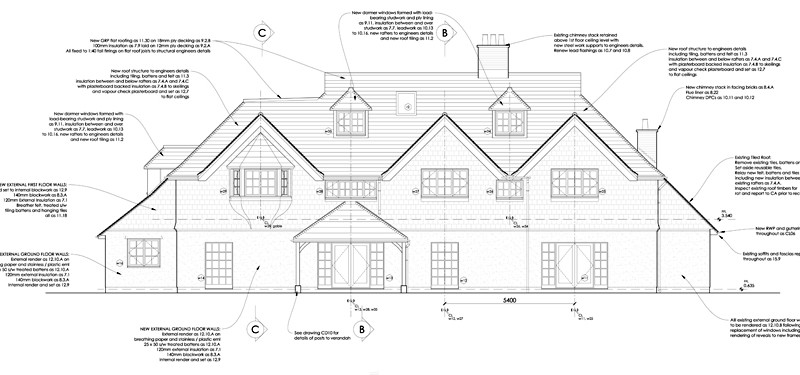 Two Storey Rear and Side Extensions, Chipstead, Surrey