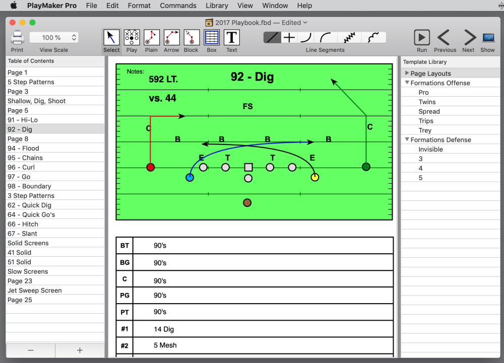 medium resolution of the playmaker pro screen shown above is from version 5 0 for macintosh version 5 0 was introduced in 2017 version 5 0 for macintosh can also export jpegs