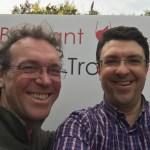 Jean-Marc & Hugues, organisateurs du Brabant Wine Trophy
